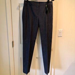 Akris Navy Zip Pocket Pants